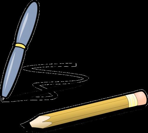 pen writing scribble