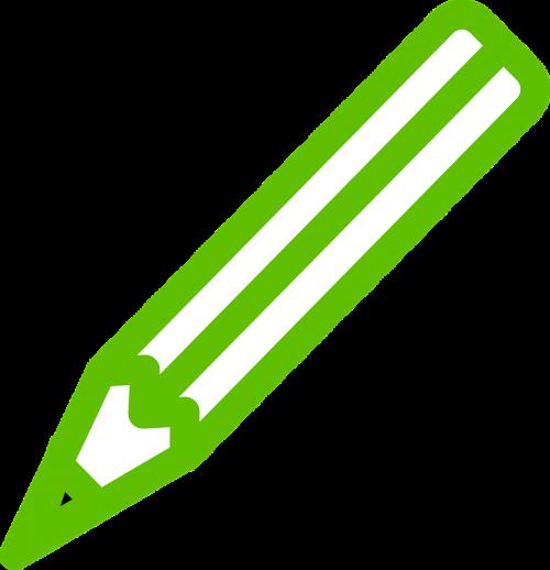 pen green pencil