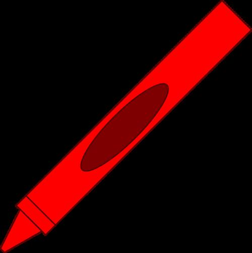 pen crayon art