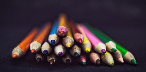 pen  pencil  watercolor pencils