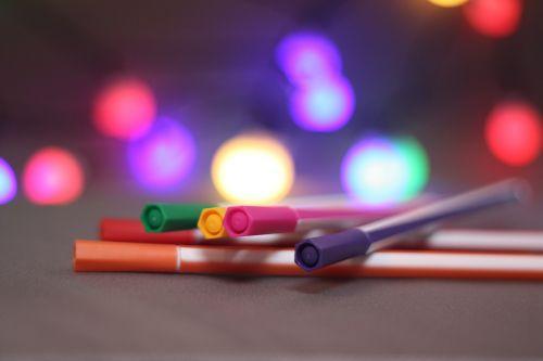 pen bokeh color