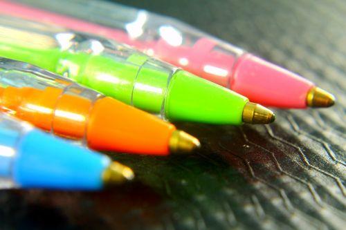 pen colorful ballpoint pen