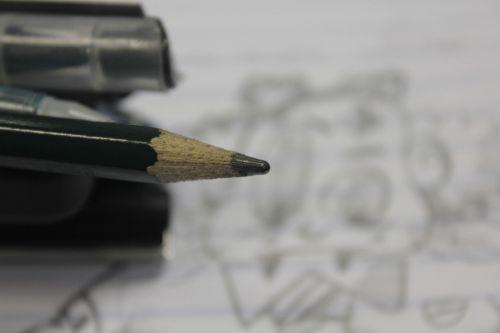 pencil drawing pen