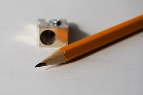 pencil pencil sharpener tips on
