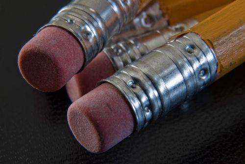 pencil pencils eraser