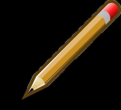 pencil writing pen