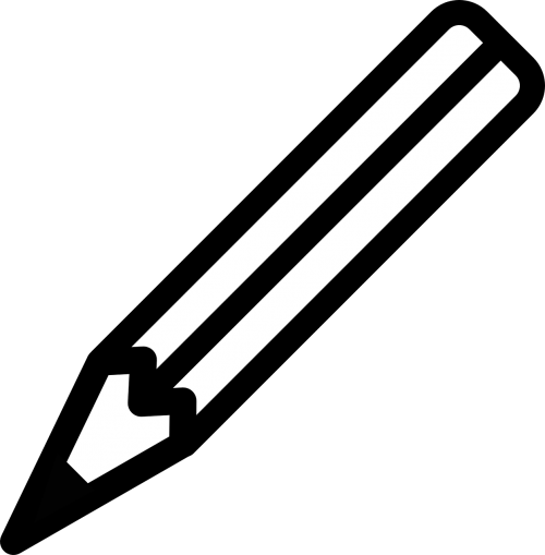 pencil writing draft