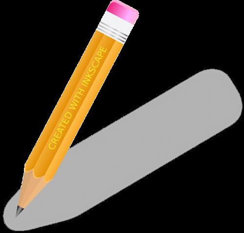pencil write office