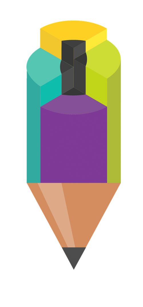 pencil infographic segmentation