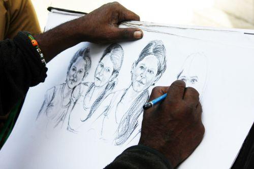 pencil sketch artist
