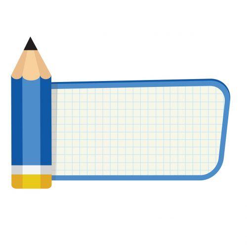 pencil to write record