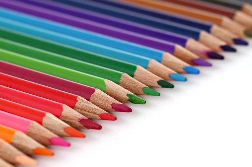 pencil  color  coloured