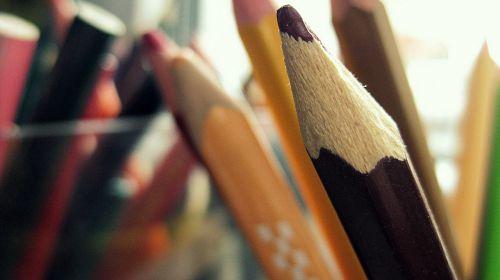 pencil colored pencils