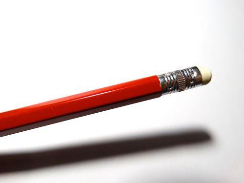 pencil eraser erase