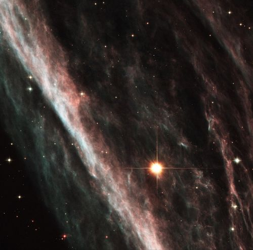 pencil nebula ngc 2736 constellation vela