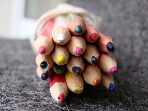 pencils colour color pencils
