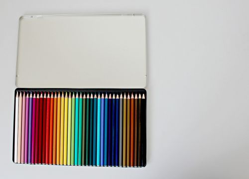 pencils colour school