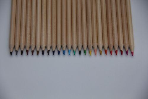 pencils colors writing