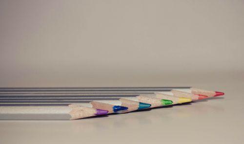 pencils color bright