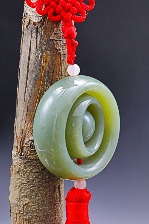 pendant jade decoration