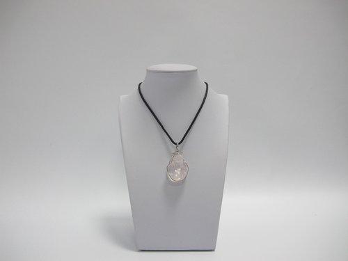 pendant of quartz  quartz  imitation jewelry