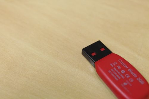 Red Flash Drive