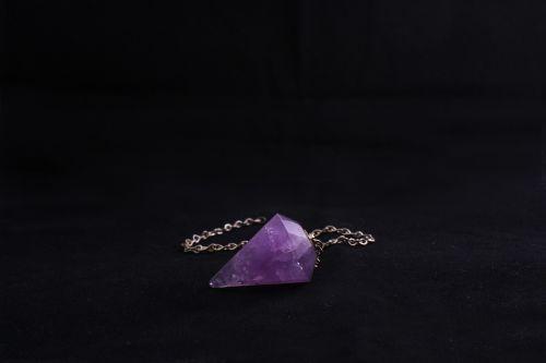 pendulum violet stone