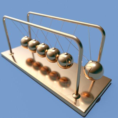 pendulum  balls  physical