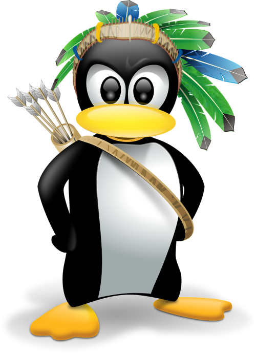 penguin anthropomorphized animals