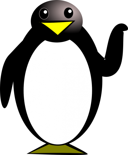 penguin bird tux