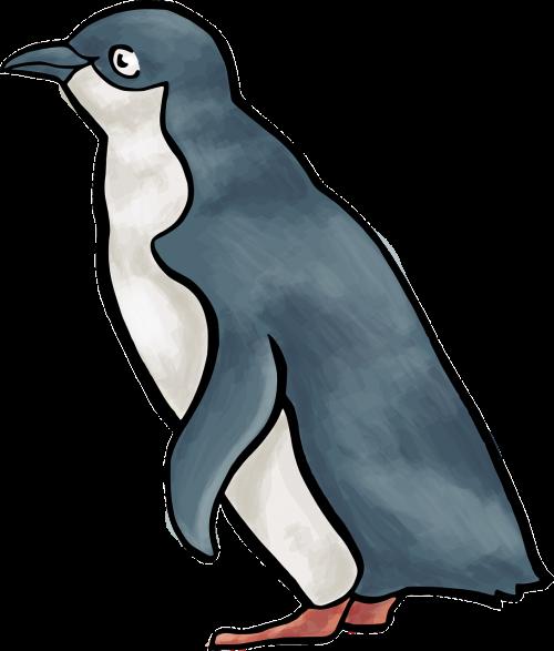 penguin bird linux