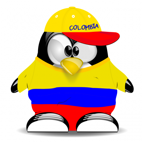 penguin colombia tux