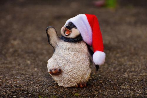 penguin figure christmas