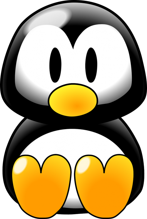 penguin baby linux