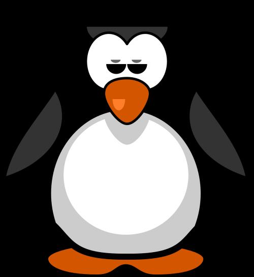 penguin bird flightless