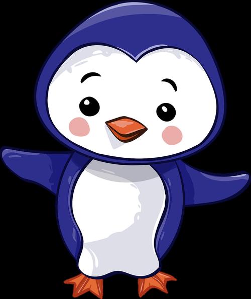 penguin  chick  bird