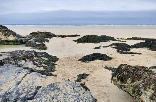 penhale sands cornwall landscape