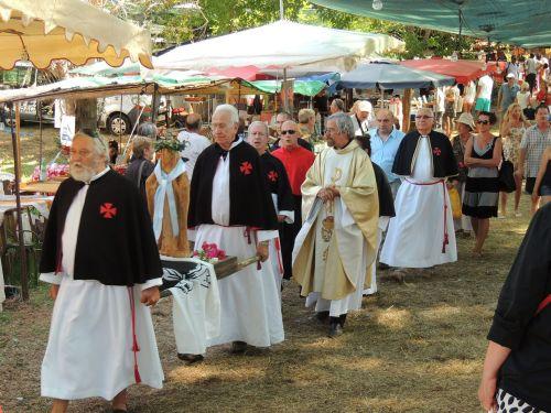 penitents procession corsican