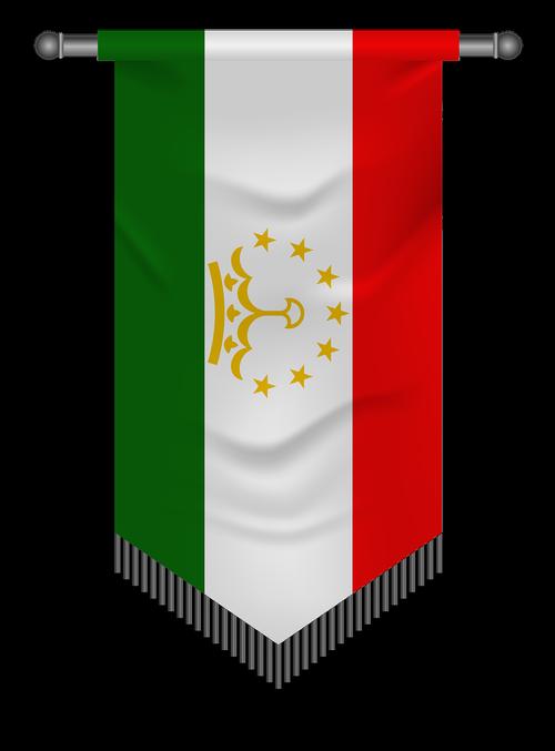 pennant  iran  tajikistan