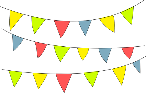 pennant  party  ornament