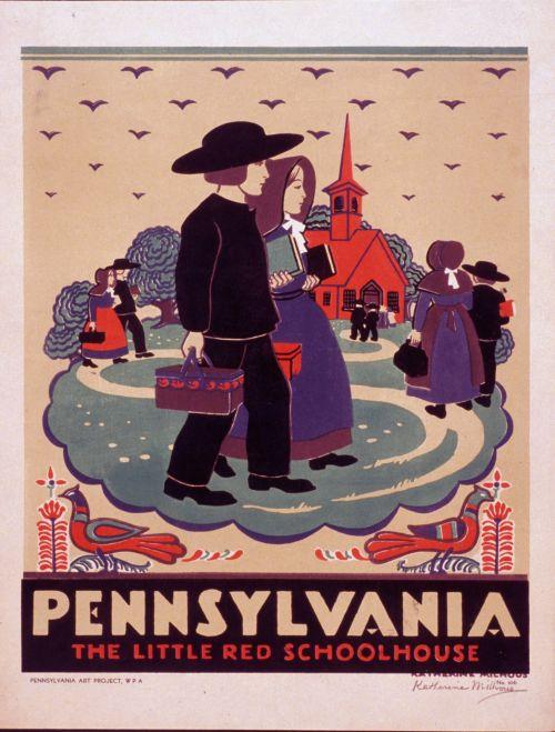 Pennsylvania Vintage Art