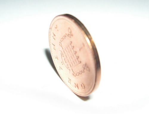 penny british penny coin