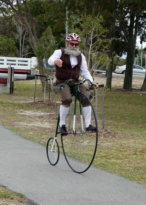 penny farthing bicycle vintage