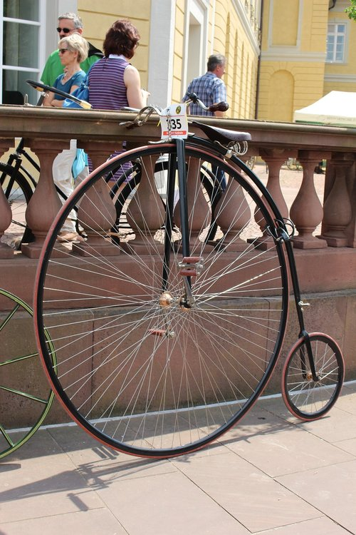 penny- farthing  bicycle  old
