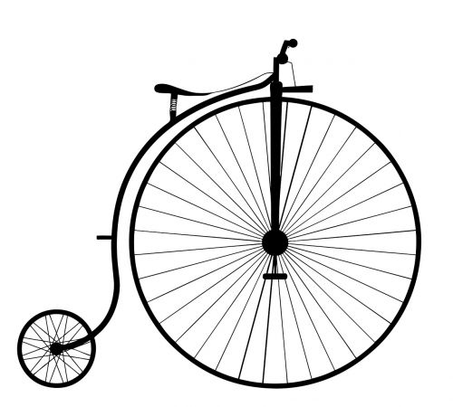 penny farthing bike bicycle