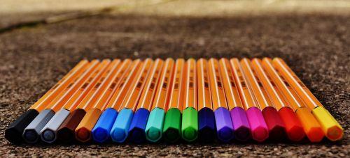 pens colour pencils colored pencils