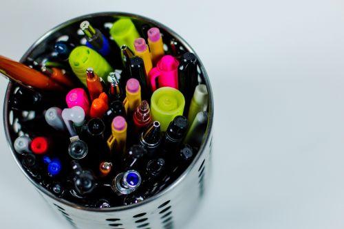 pens pencils stationary
