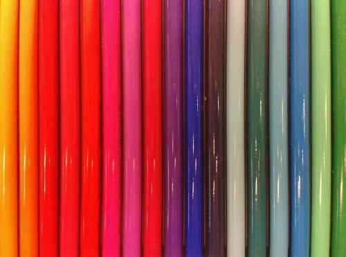 pens pen colored pencils