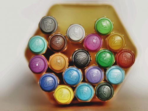 pens colorful felt tip pens