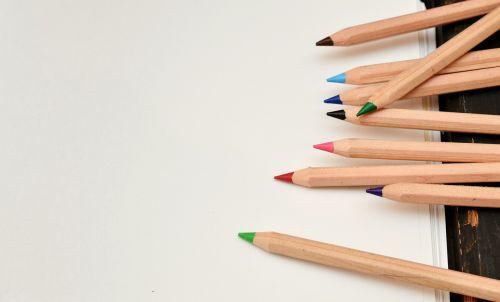 pens leaf paint